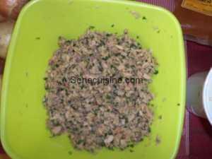 Préparation poisson pour thiou boulettes 2