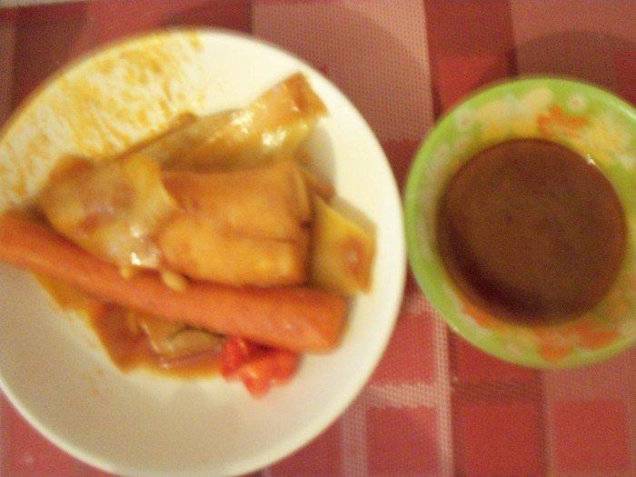 Sauce et légumes pour thiebou kéthiakh
