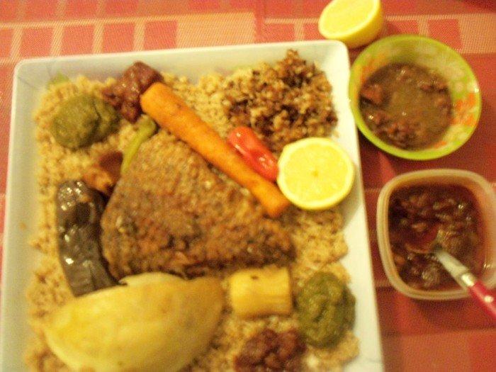Thieb bou wekh sauce netetou tamarin recette
