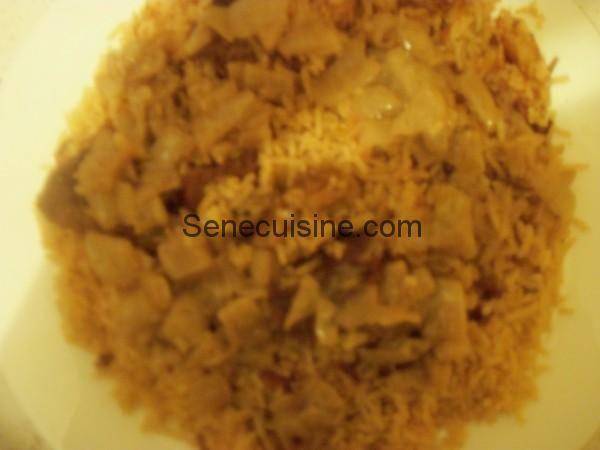 Thiebou Yapp avec sauce