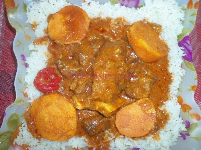 Assiette de Mafé