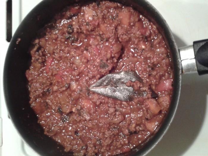 Sauce Bolognaise cuite