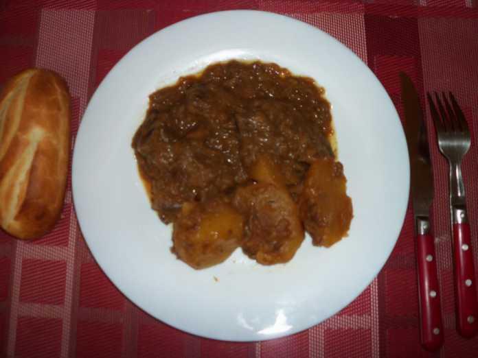 Touffé sauce à la viande