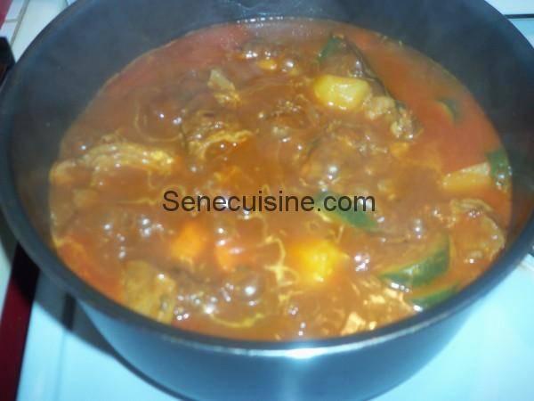 sauce couscous agneau