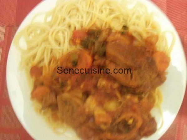 Recette de l 39 osso bucco senecuisine - Cuisine italienne osso bucco ...