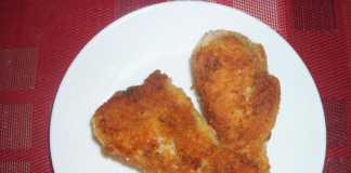 Poulet pané