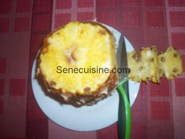 Préparer un ananas 3