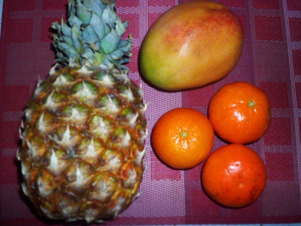 Smoothie Ananas Mangue Orange