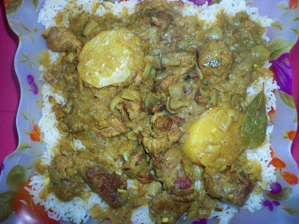 Boeuf au curry Thiou curry