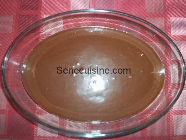 Préparation Moelleux au chocolat 3