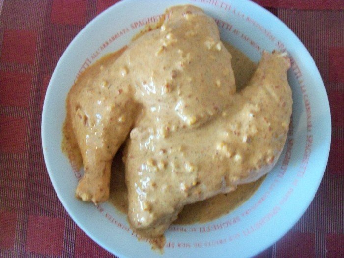 Préparation poulet tandoori 4
