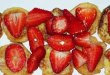 Mini Pain perdu aux fraises 8