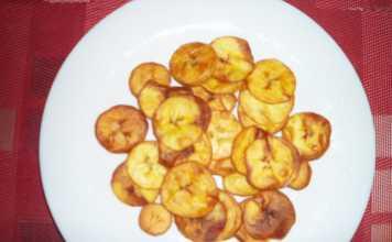 Chips bananes plantain