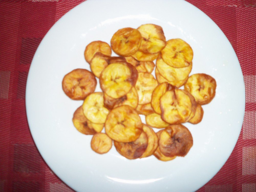 Chips bananes plantain
