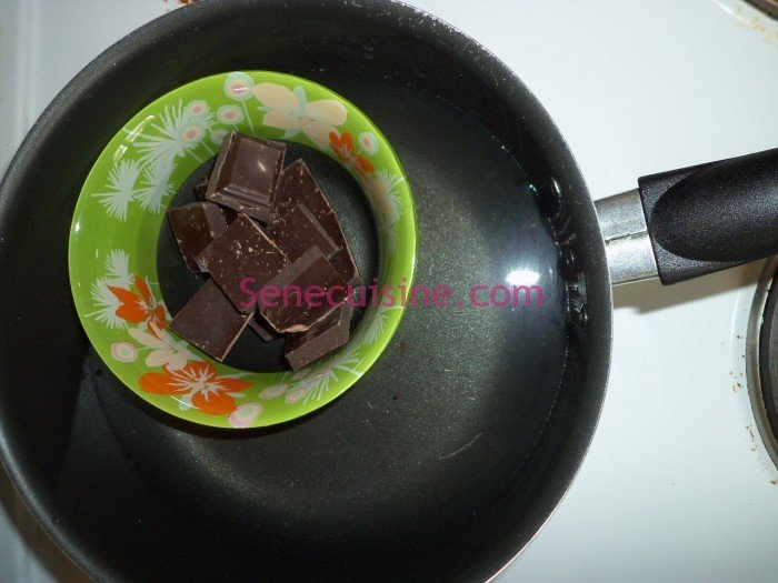Préparation chocolat 1