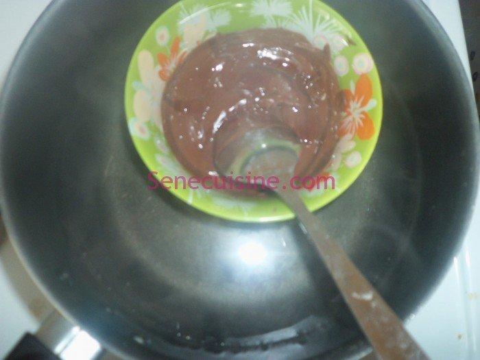 Préparation chocolat 2