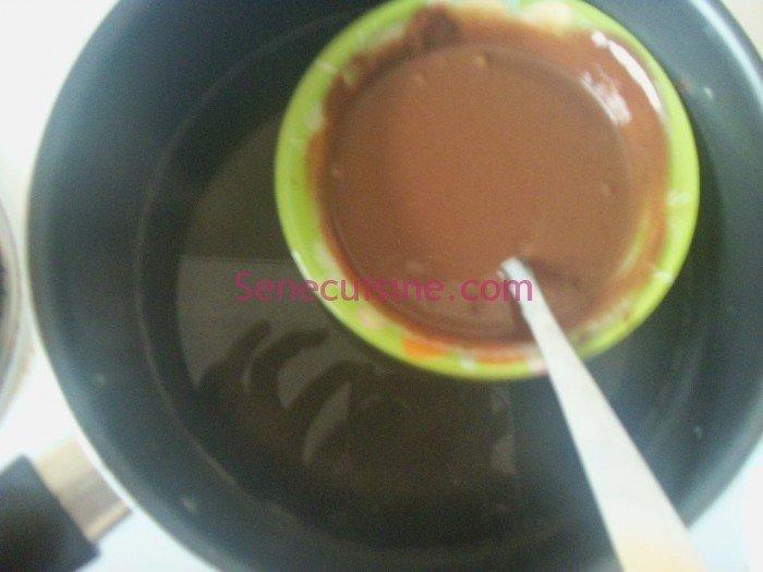 Préparation chocolat 4