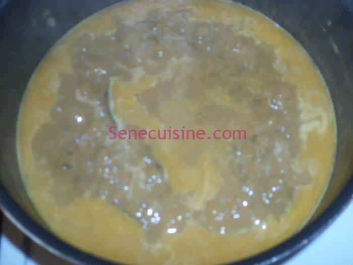 Préparation couscous poulet légumes 15