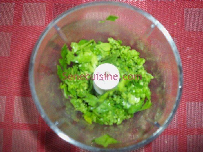 Préparation couscous poulet légumes 7