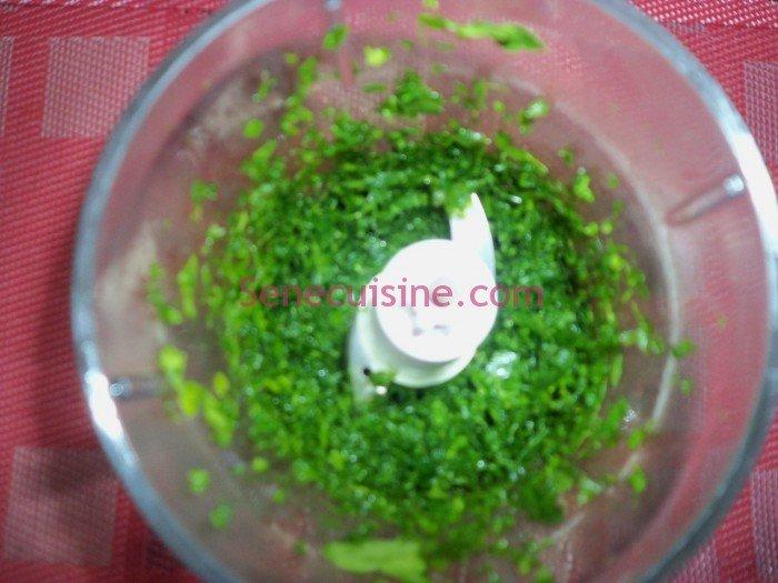 Préparation couscous poulet légumes 8
