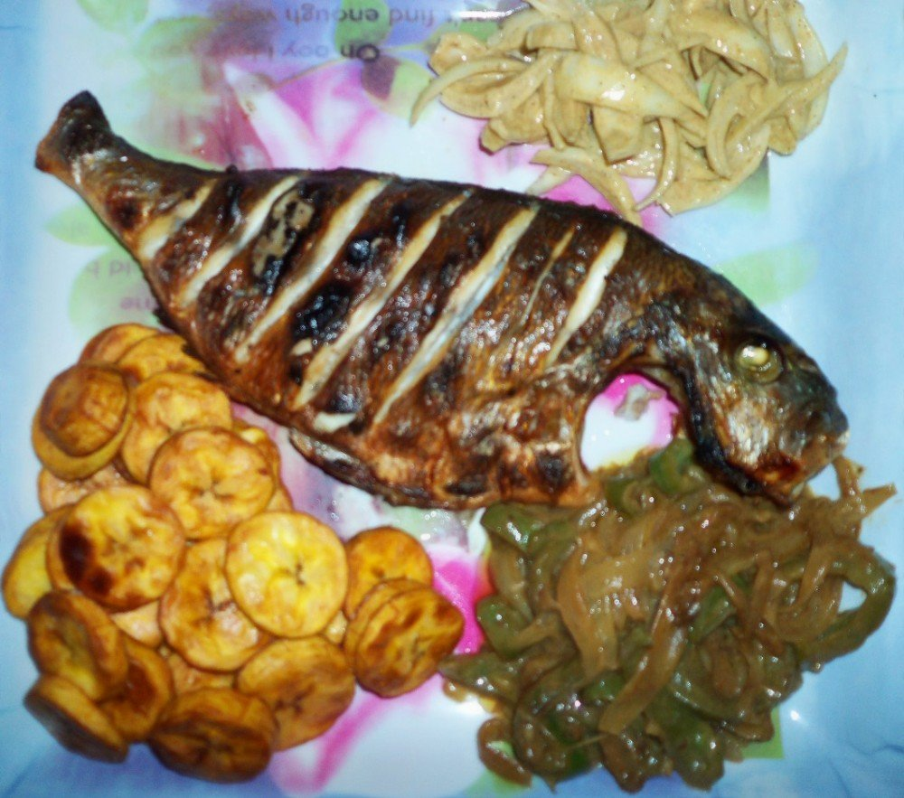 Poisson Braise Senecuisine Cuisine Senegalaise