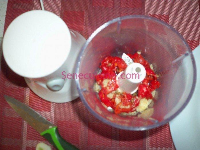 Préparation purée piment 2