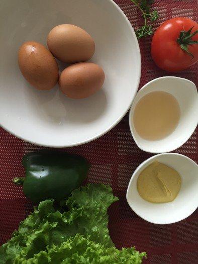 Salade niçoise Ingrédients