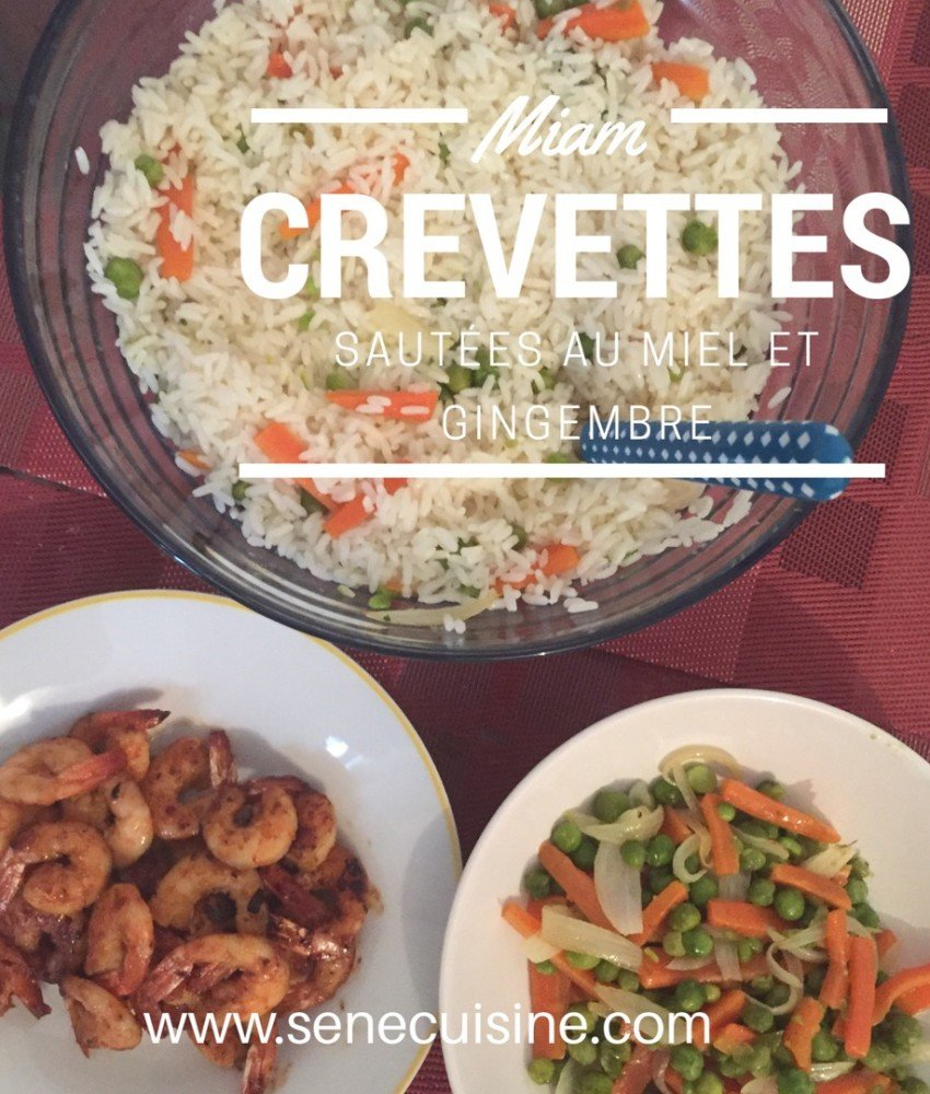 Crevettes Sautees Et Poelee De Legumes Senecuisine Cuisine
