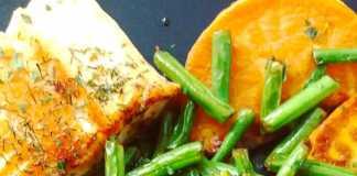 Saumon patate douce