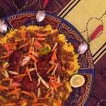 Yassa au poulet – riz au safran